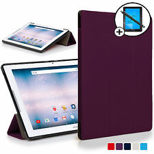 Purple Smart Case Cover Shell for Acer Iconia One 10 B3-A30 Screen Prot Stylus