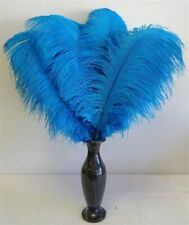 Turquoise Ostrich Feather 16-20 inch Long per Each