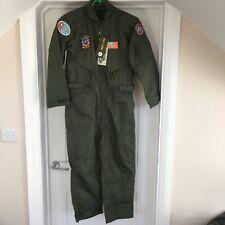 Kombat UK Kid's Flight Suit Olive Green 5-6 Years Chest 76cm