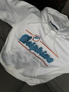 Miami Dolphins Vintage STARTER Brand Hoodie Size Small