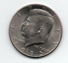 1985  D Kennedy Half Dollar