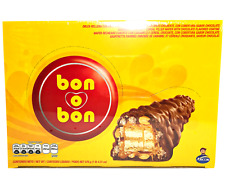 Bon o Bon Bars ~ Wafers Filled with Caramel, Crispy Cereal Covered in Chocolate
