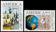✔️ URUGUAY 1992 - UPAEP AMERICA SHIPS - MI. 1960/1961 ** MNH OG [101.039]
