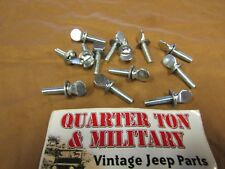 Jeep Willys M38A1 early battery lid thumb screw G758