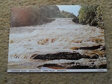 JUDGE.POSTCARD.WENSLEYDALE,LOWER FALLS AYSGARTH.  NOT POSTED.NUMBER C5849.