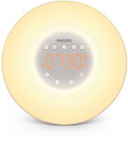 Philips Wake up Light LED-Wecker Aufwachen mit Licht und 2 natürlichen Wecktönen