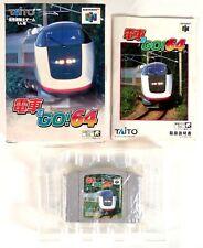 DENSHA DE GO! 64 Nintendo 64 N64 Jap Japan (2)