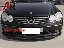 CS Style Front Bumper Lip Carbon Fiber Fit 03-05 W209 CLK55 CLK550 AMG Bumper