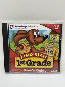 Knowledge Adventure Jump Start 1st Grade Cd Rom ages 5-7 (Some Scratches)