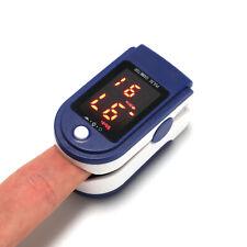 USA Finger Pulse Oximeter Blood Oxygen Sensor O2 SpO2 Monitor Heart Rate