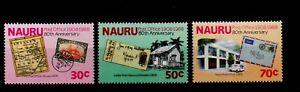 NAURU.  80th ANNIVERSARY OF NAURU POST OFFICE  1988  MNH.