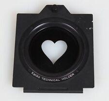 52MM TECHNICAL FILTER HOLDER W/HEART FILTER