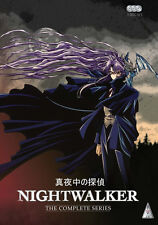 Nightwalker . The Complete Series Collection . Anime . 3 DVD . NEU