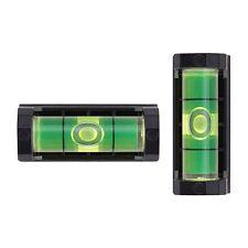 2 Pcs Gunsmith Level Rifle Scope Magnetic Level Buble System with Storage Case