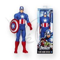 Marvel Avengers Capitán América 30.5cm Figura de Acción Serie Hero Titan 30Cm