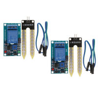 8Pcs Soil Humidity Moisture Detection Relay Controller Module Water Sensor