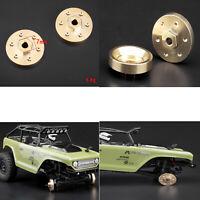 Für Axial SCX24 90081 RC Crawler Car Messing Rad Gegengewicht Balance Gewicht