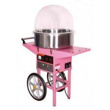 Candy Floss Machine avec panier en métal, bol et couvercle, Candy Floss, Commercial