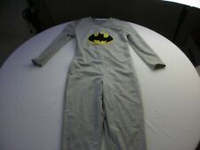 Batman costume tights for child homemade 6-9 years old VINTAGE