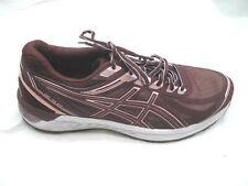 Asics 10M Gel-Sileo maroon burgundy pink running womens ladies tennis shoes