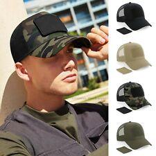 Camo Cap Snapback Patch Trucker Military Baseball Cap Camouflage Urban Combat