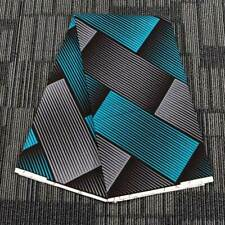 1 Yard Dutch Wax Double-sided Fabric Geometric Printed African Ankara Sewing DIY