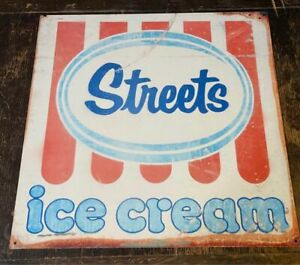Streets Ice Cream Shop Advertising Sign Large