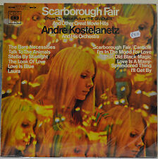 "Andre Kostelanetz & Orchestra, Scarborough Fair (From ""The Graduate""), 1968 (L5)"