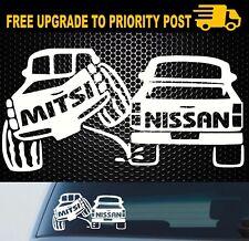 MITSUBISHI TRITON UTE PAJERO 4x4 4wd funny OFF ROAD sticker decal 200mm