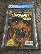 Green Lantern #51 - CGC 9.8 - Variant Cover - Blackest Night