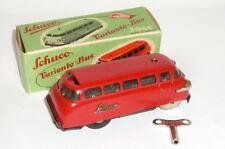 Altes Schucoauto Blechspielzeug Schuco 3044 Varianto Bus rot Omnibus Auto car