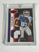 Sterling Shepard Rookie Patch Giants 2016 Panini Plates and Patches Red 7/10