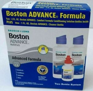 Bausch + Lomb Boston Advance MultiPack Cleaner & Conditioning Solution