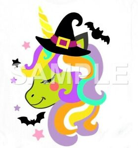 Halloween iron on or sublimation transfer (choice of 1)