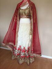 😍 dernière Indian Bollywood Bridal Lengha Déguisement/Fête/Mariage