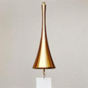 Nousaku Wind-Bell Horn Pink Gold Toyama/Interior/Summer F/S Japan Import