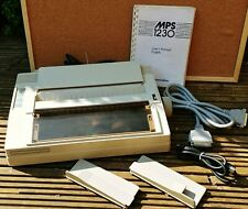 Commodore MPS 1230 - Printer - Amiga - C64 & Manual