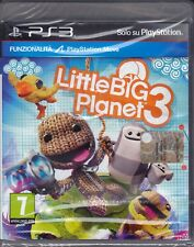 Ps3 PlayStation 3 «LITTLE BIG PLANET 3» nuovo sigillato italiano pal