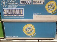 Hula Hoops HANDYPACK 32X34gm  Unpriced Salt & Vinegar