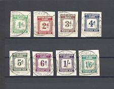 BRITISH SOLOMON ISLANDS 1940 SG D1/8 USED Cat £130