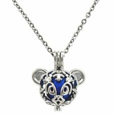 K684 Tiger Beads Cage Locket Chain - Kid's Gift
