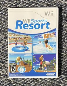 Wii Sports Resort (Nintendo Wii, 2009) Complete w/ Manual