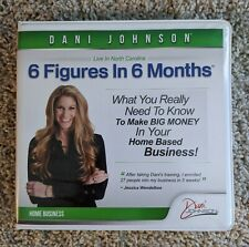 Dani Johnson First Steps to Success: 6 Figures in 6 Months 10 Cd set - Used