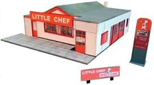 Kingsway, 00 scale, Little Chef, A66 Appleby-in-Westmorland,  Kit build service.