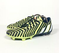 Adidas Predator Absolion Instinct Black Yellow Football Boots FG Moulded Size 8
