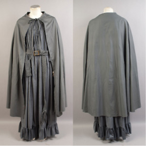 The Lord of the Rings The Fellowship of the Ring Gandalf Costume Cosplay Cloak