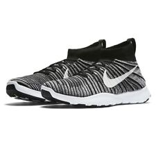 Nike Free Train Force Flyknit Black/White Training Shoes 833275-007 Mens 11