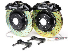 Brembo Front GT BBK Brake 6pot Black 380x32 Drill Disc LS460 LS460L LS600h 07-13
