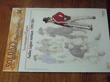 $$ Fascicule Osprey Soldats Guerre Napoleoniennes N°14 Campagne d'Egypte