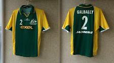 Floorball Australia Match Worn Jersey Jadberg Shirt # 2 Galbally